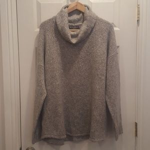 NWT Eddie Bauer Cowl Neck Oversized Sweater Lounge